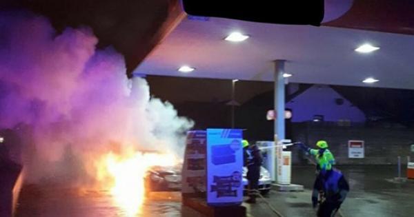 Car Fire  Mass Nov
