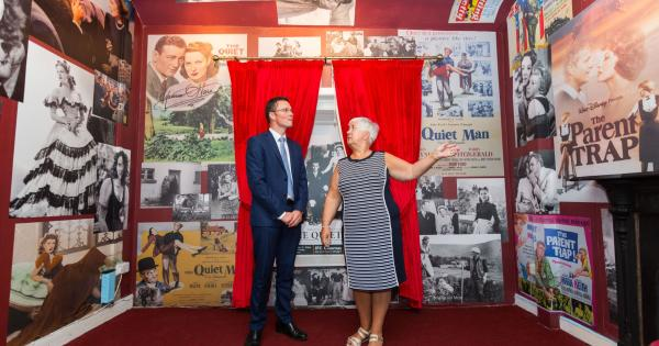 WATCH: Extensive collection of Maureen O'Hara memorabilia unveiled in Limerick