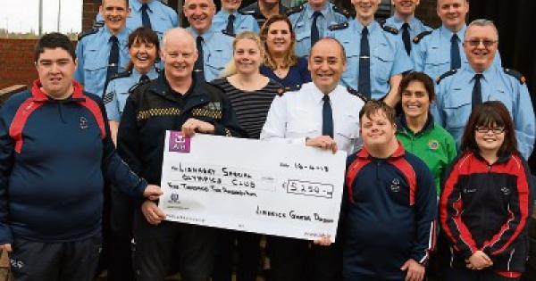 Limerick garda climb raises funds for Special Olympics ...