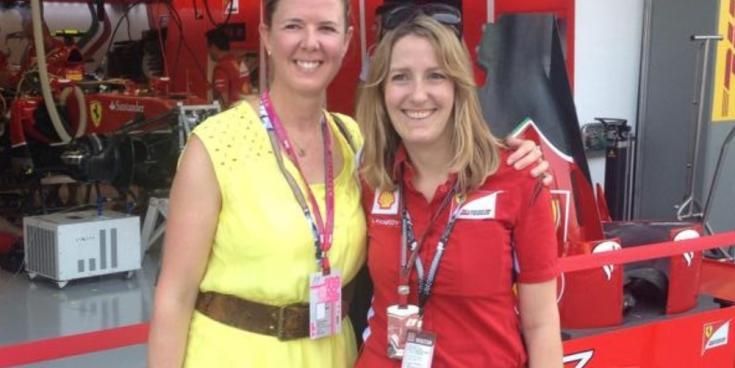 LISTEN: Annie Kennedy talksto Fergal O'Keeffe about 'life working with Ferrari in F1'