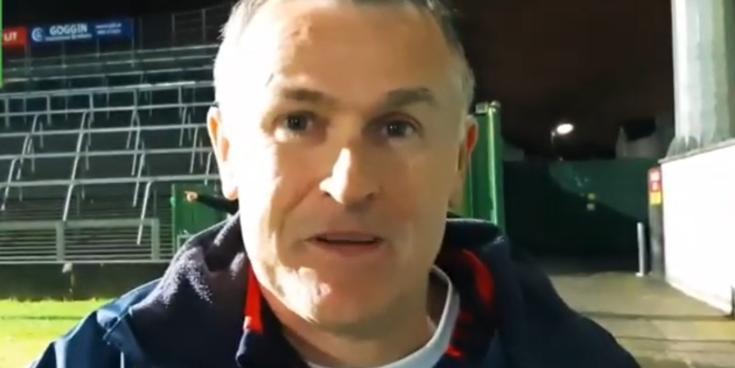 WATCH: Monaleen's Muiris Gavin on Limerick Co SFC win:  'It wasn't good for the blood pressure'