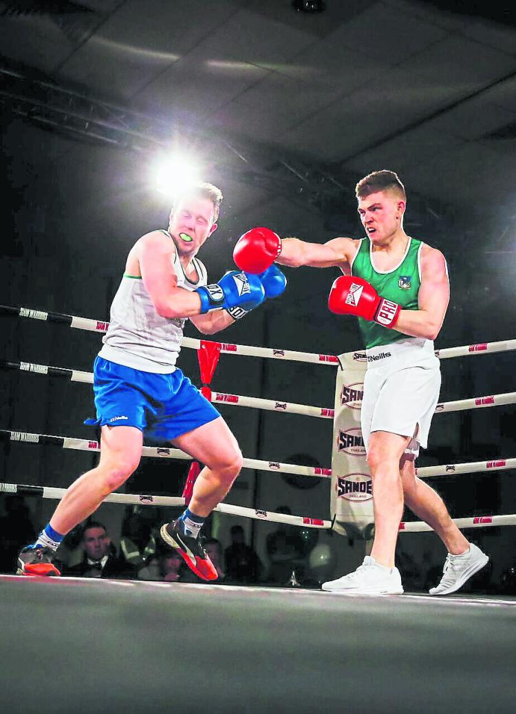 Slideshow Limerick Hurlers In Bruising Boxing Bouts