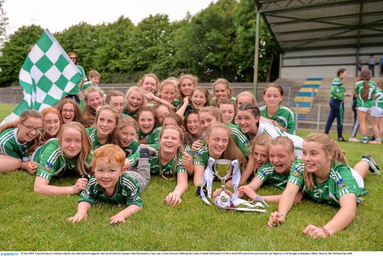 16c9a4346e906 SLIDESHOW: Limerick's U14 Ladies Football side bring home All-Ireland title