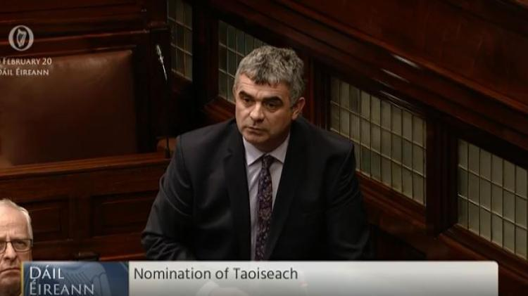 """WATCH: Limerick TD's maiden speech: 'How many of you here have common sense?"""""""