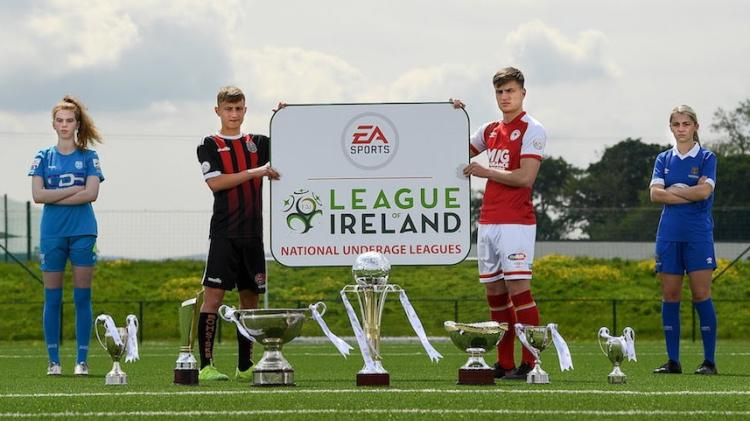 Treaty Utd and Limerick FC fielding teams in EA Sports National Underage Leagues