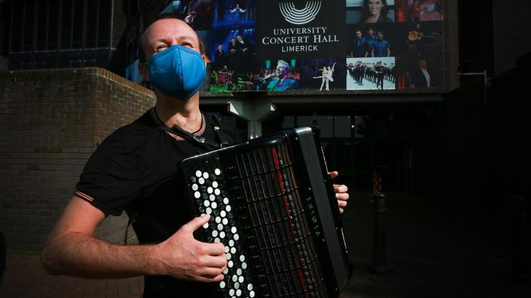 Preparations continue ahead of first live concert in Limerick since lockdown