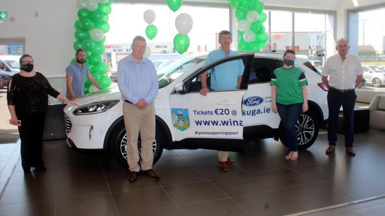Limerick GAA launch new Win A Ford Kuga car fund-raising drive