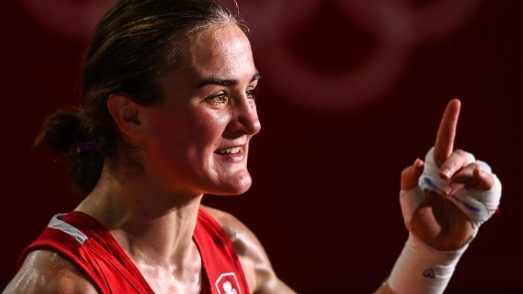 WATCH: Olympic finalist Kellie Harrington's shout-out to Limerick boxing stalwart