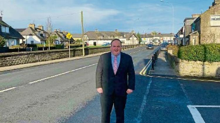Councillor 'speechless' over works in Limerick village