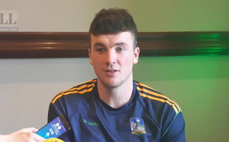 WATCH: Limerick captain Declan Hannon previews All Ireland Hurling final