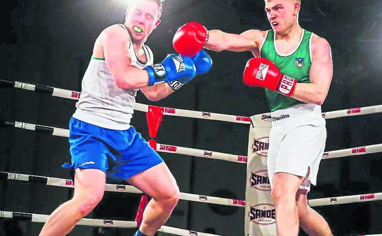 SLIDESHOW: Limerick hurlers in bruising boxing bouts
