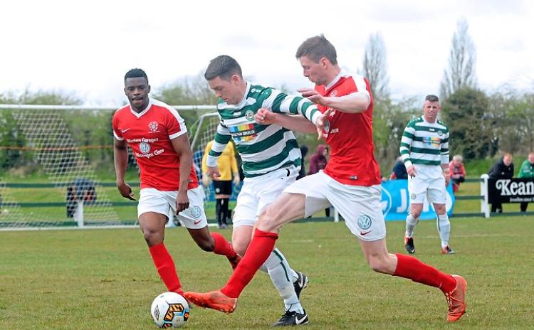 SLIDESHOW: Pike Rovers book Aviva Stadium date with FAI Junior Cup win over Newmarket Celtic