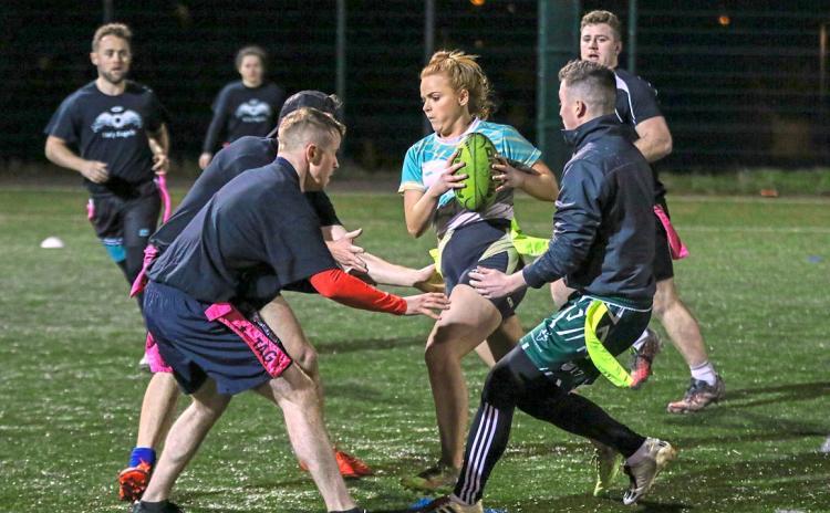 SLIDESHOW: Garryowen FC host Limerick Tag Rugby Valentine's event