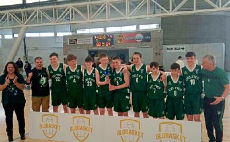Limerick Celtics Basketball take home two European titles
