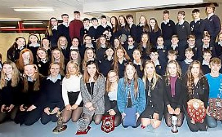 SLIDESHOW: Scoil Pól students advised to 'work hard and you'll reap rewards'