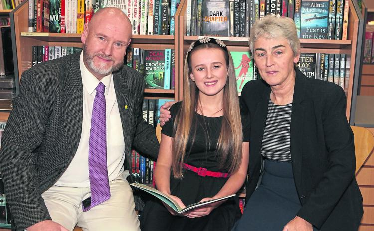 WATCH: Limerick girl who lost both parents hopes her book helps other children to cope
