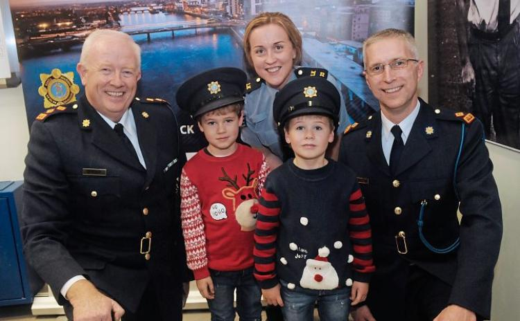 WATCH: Tributes paid to brave Limerick gardai as wall of honour unveiled at Henry Street