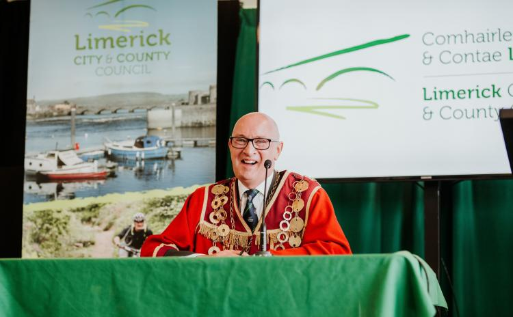 WATCH: First interview with newly-elected Mayor of the city and county of Limerick