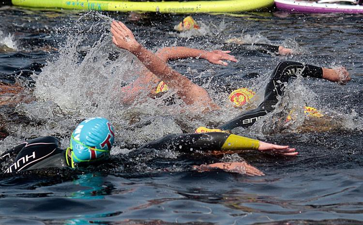 SLIDESHOW: Limerick Narwhals take to the open waters for Island Swim