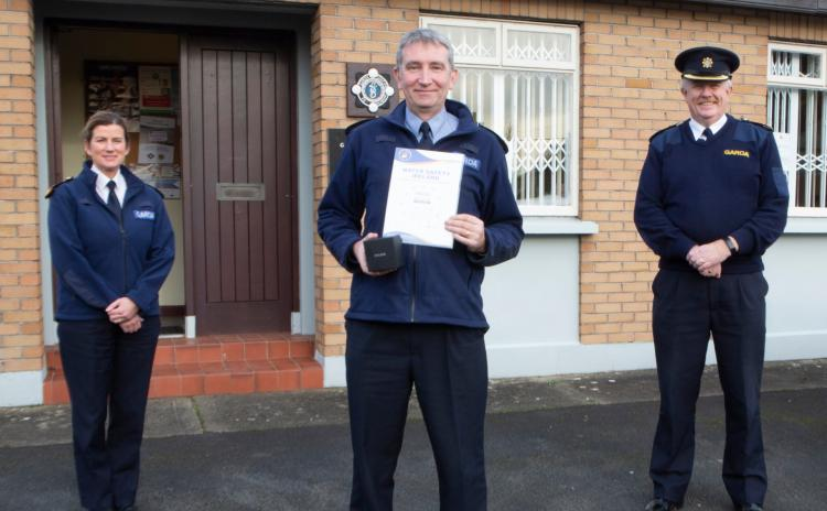 WATCH: Garda sergeant receives award following river rescue in Limerick village