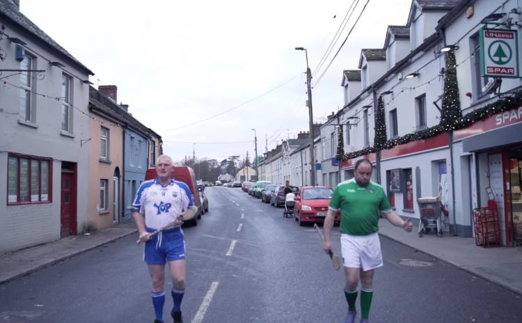 WATCH: Toilet rolls replace sliotars as Limerick village prepares for All Ireland final