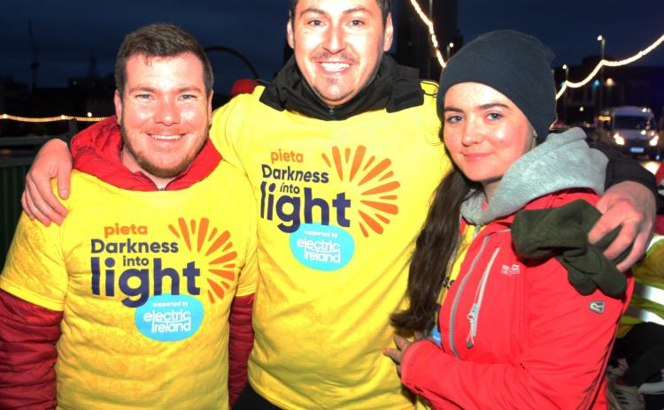 SLIDESHOW: Limerick public rise with the dawn for 'Darkness into Light 2021'