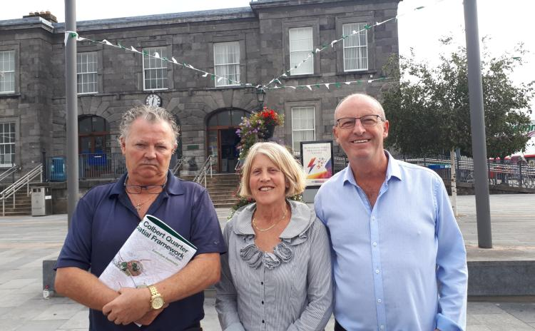 WATCH: Housing Minister confronted by Limerick traders over anti-social behaviour