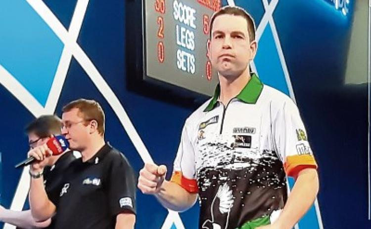 WATCH: Limerick's William O'Connor powers into second round at PDC World Darts Championships