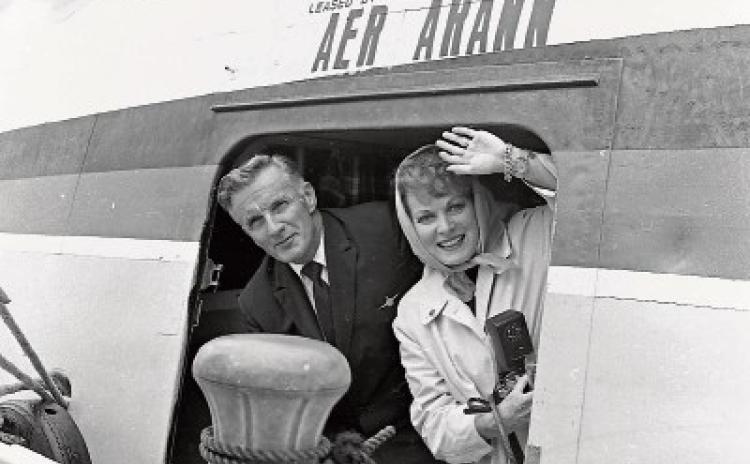 Maureen O'Hara memorabilia donated to Foynes museum
