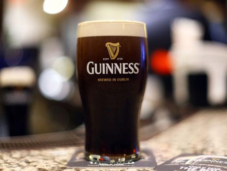 Pint Of Guinness Birthday Cake