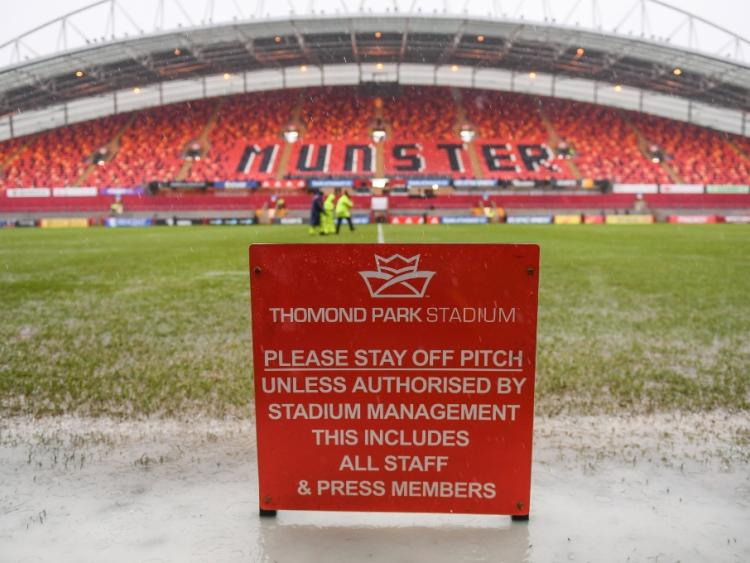 European Champions Cup: Munster v Castres delayed after heavy rain