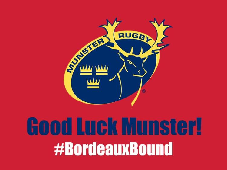 Thousands of Limerick rugby fans are Bordeaux bound for Munster - Racing clash