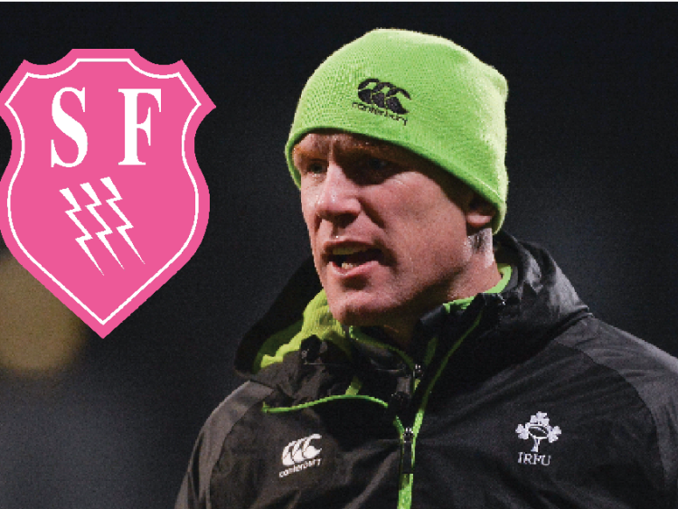 Paul O'Connell takes Stade Francais role