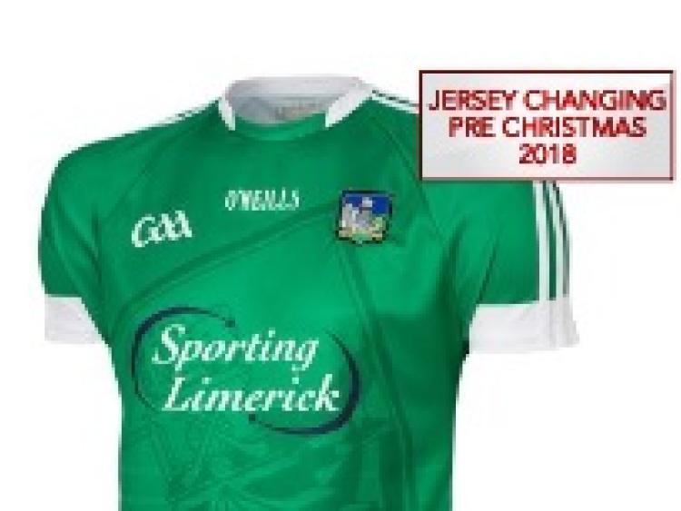 New Limerick GAA jersey in shops soon - Limerick Leader b72fe5e03