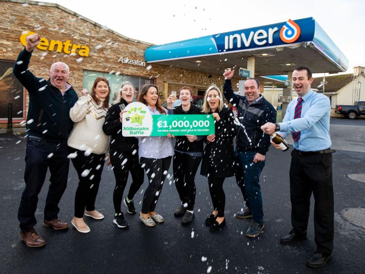 county limerick shop owners thrilled at selling winning millionaire ticket