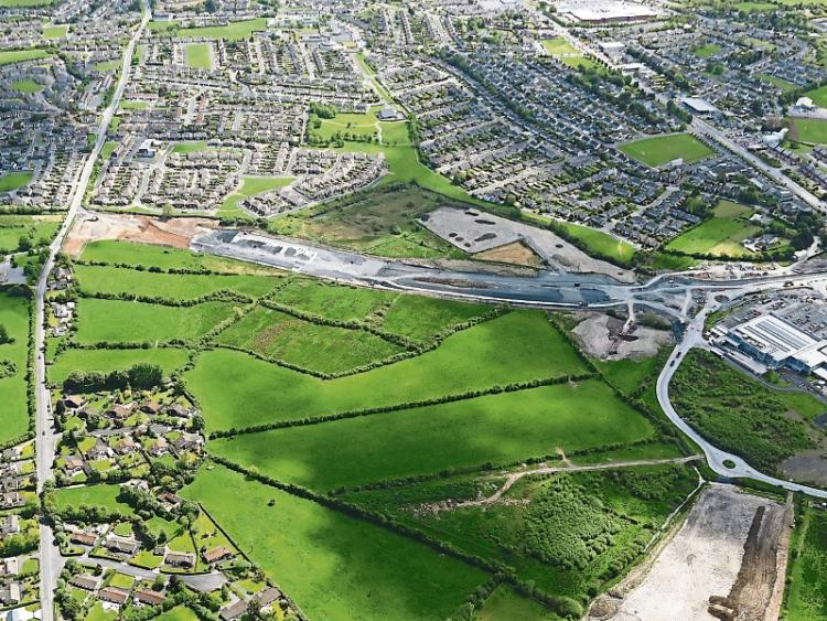 The new Knockalisheen to Coonagh road, which is currently under construction