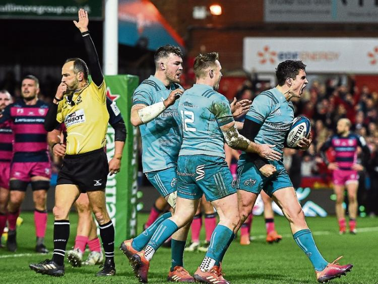 Gloucester 15-41 Munster: Joey Carbery gets 26 points as visitors win