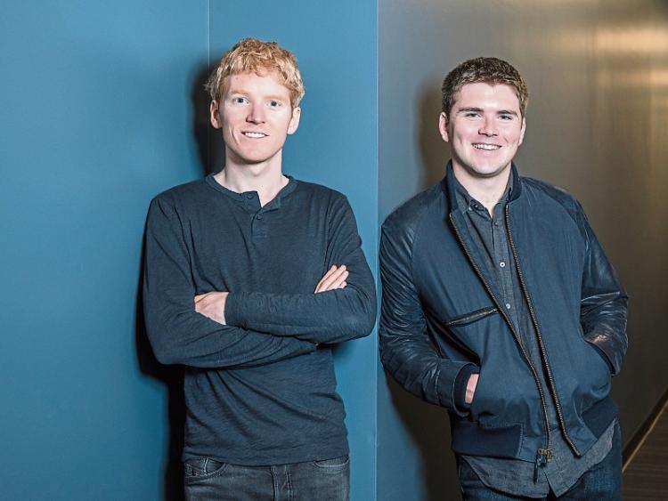 Collison brothers included on billionaires list