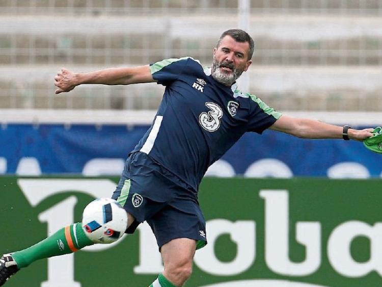 A Legend To Commemorate: Soccer Legend Roy Keane To Celebrate With Limerick Fans