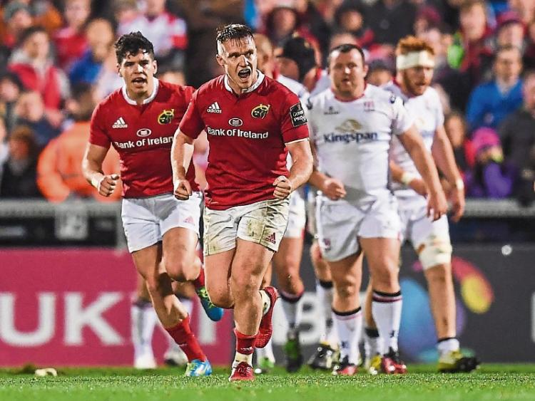 Munster Overwhelmed By Warriors As Winning Run Comes To An End