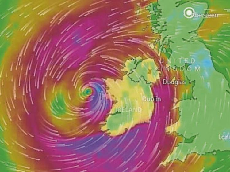 Funeral services cancelled as Ophelia moves across Ireland