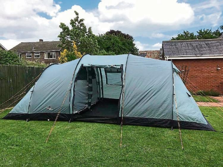 A Vango 800 tent similar to those stolen from Croom & Tents worth u20ac3000 stolen from Limerick scout group - Limerick Leader