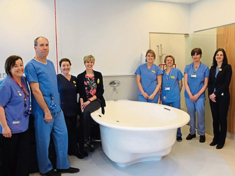 27cae6cbfddc8 Limerick Maternity to leave on the immersion for mums in labour ward ...