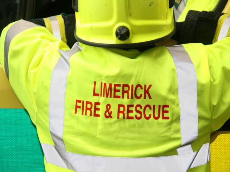 Emergency services at scene of two-car collision in Limerick city ...