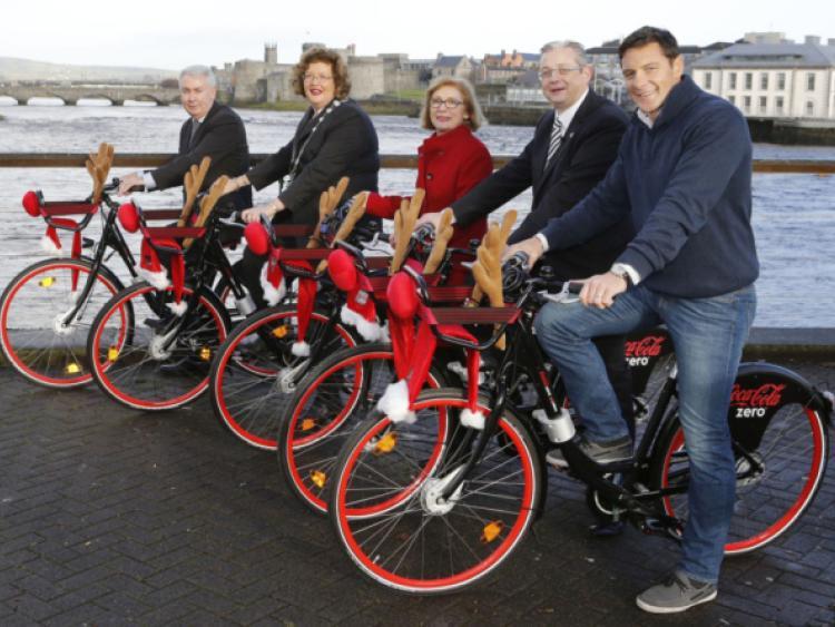 Public bike scheme wheeled out in Limerick city - Limerick ...