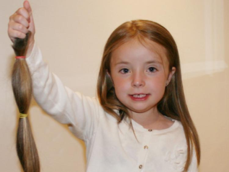 Hair Style 6 Year Girl: Limerick Girl Donates Hair, That Had Never Been Cut, To