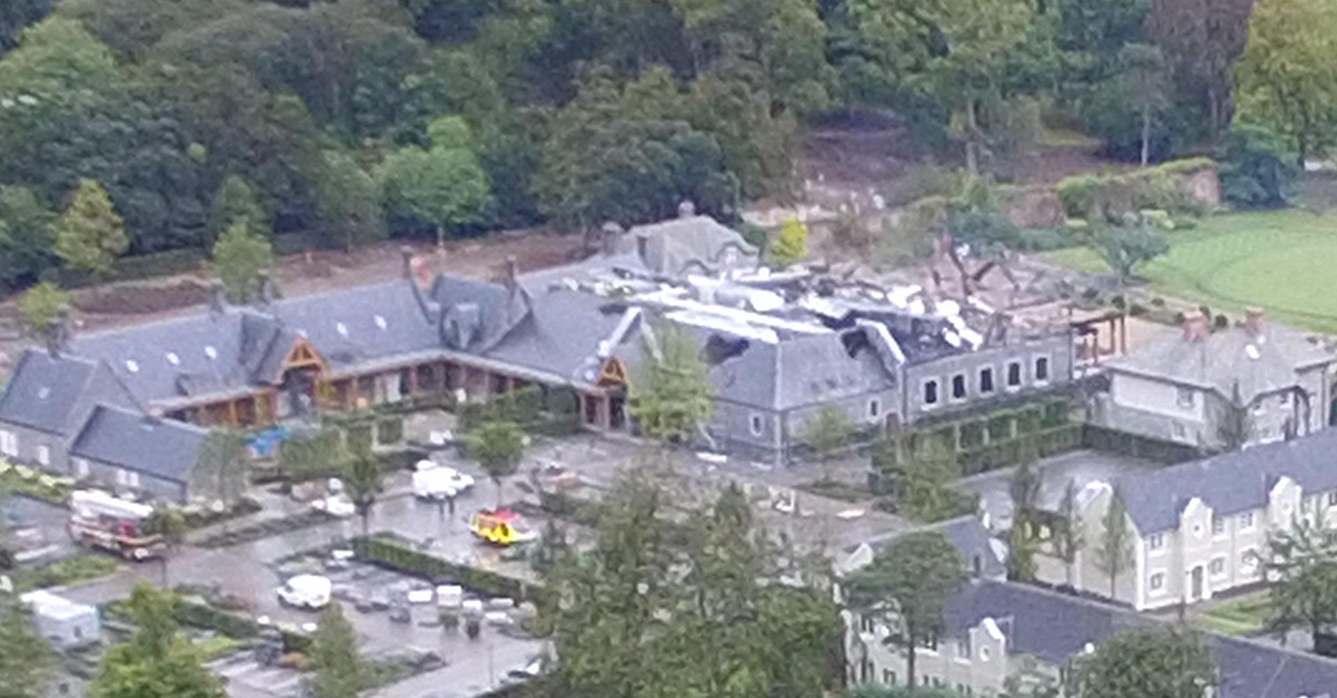 Update gardai not treating fire at limerick 39 s adare manor for Adare house