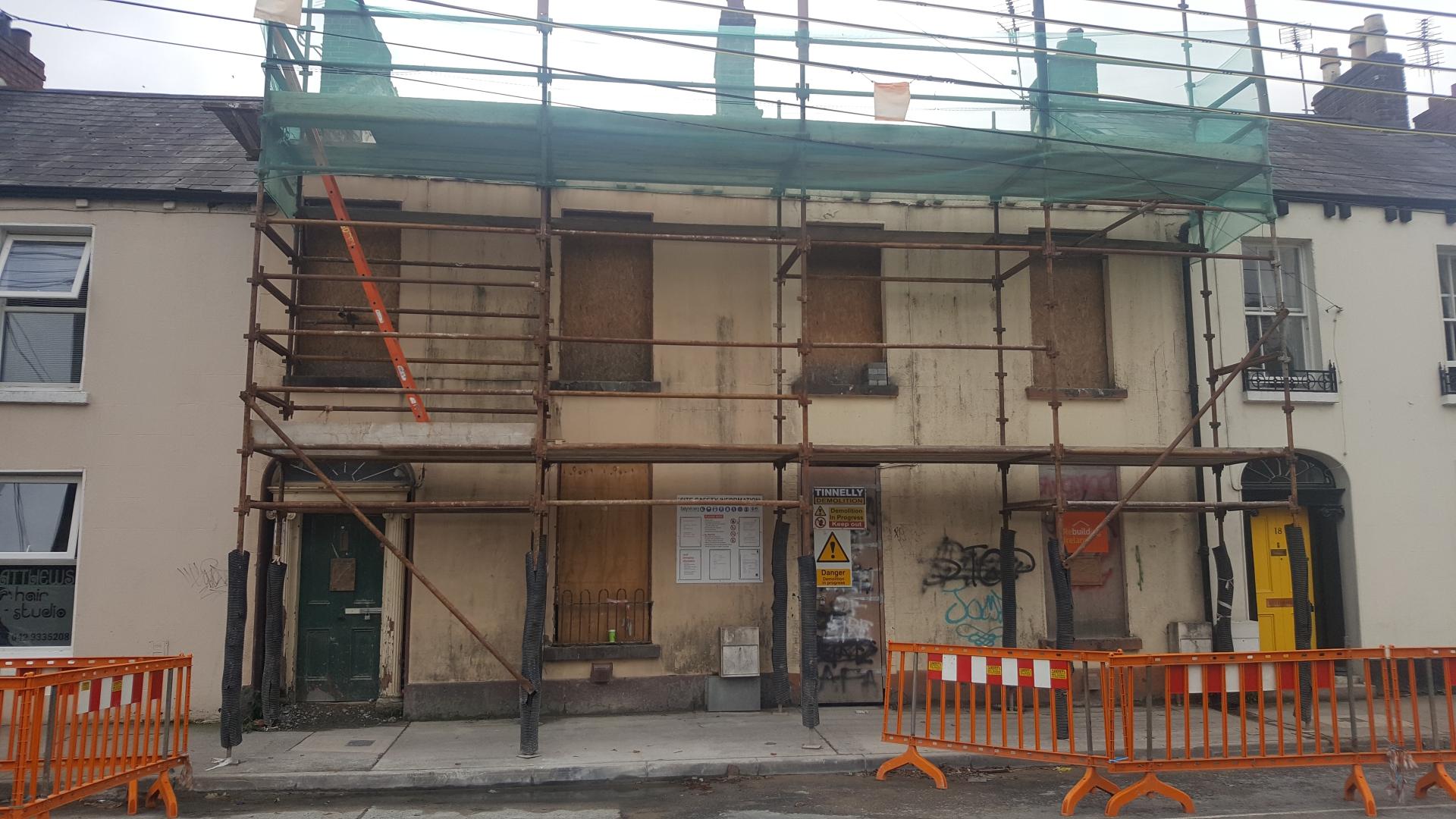 One property in Seatown that is being refurbished under Rebuilding Ireland
